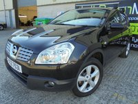 USED 2009 NISSAN QASHQAI 1.5 ACENTA DCI 5d 105 BHP Good Sized Family SUV, Economical Engine, No Deposit Finance Available