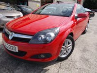 USED 2007 VAUXHALL ASTRA 1.8 TWIN TOP SPORT 3d 140 BHP Great Value Convertible, Hard Automatic Roof, No Deposit Finance Available