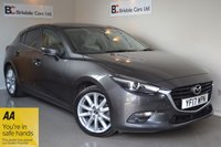 USED 2017 17 MAZDA 3 2.0 SPORT NAV 5d 118 BHP Immaculate - One Owner - Full Mazda Service History - Full Cream Leather - Satellite Navigation - Heated Seats - Rear Camera - Stunning
