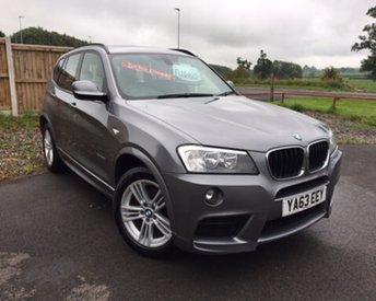 2014 BMW X3 2.0 XDRIVE20D M SPORT 5d AUTO 181 BHP £16495.00