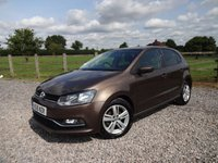 2016 VOLKSWAGEN POLO 1.0 MATCH 5d 74 BHP £SOLD