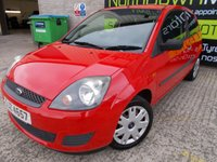 USED 2008 FORD FIESTA 1.2 STYLE 16V 3d 78 BHP Excellent First Car, Low Insurance, No Deposit Finance Available