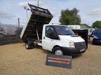 2013 FORD TRANSIT 2.2 TIPPER S/CAB 350 DRW 2d 125 BHP RWD £7990.00