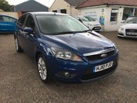 2010 FORD FOCUS 1.6 ZETEC 5d 100 BHP £SOLD
