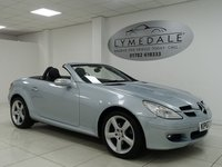 USED 2007 07 MERCEDES-BENZ SLK 1.8 SLK200 KOMPRESSOR 2d 161 BHP IMMACULATE, FULL HISTORY, FULL LEATHER, CONVERTIBLE