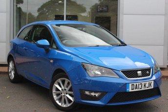 2013 SEAT IBIZA 1.2 TSI FR 3d 104 BHP £5798.00