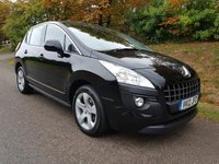 USED 2012 12 PEUGEOT 3008 1.6 ACTIVE HDI FAP 5d 112 BHP **FULL HISTORY**2 OWNERS**SUPERB DRIVE**
