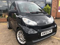 USED 2008 58 SMART FORTWO 1.0 PASSION MHD 2d AUTO 71 BHP