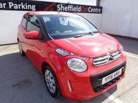 USED 2016 16 CITROEN C1 1.0 FEEL 3d 68 BHP MANUFACTURERS WARRANTY UNTIL 31/03/2019  £ZERO ROAD TAX  70 PLUS MPG  IDEAL TOWN CAR OR FIRST CAR  BLUETOOTH FULL  DEALER SERVICE HISTORY