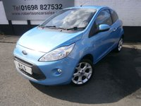 USED 2011 11 FORD KA 1.2 TITANIUM 3dr