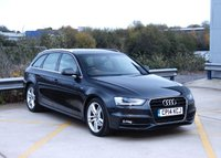 USED 2014 14 AUDI A4 2.0 AVANT TDI S LINE START/STOP 5d 148 BHP Call us for Finance