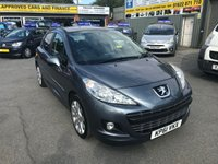 2011 PEUGEOT 207 1.6 HDI ALLURE 5d 92 BHP IN METALLIC GREY WITH ONLY 30000 MILES. £4399.00