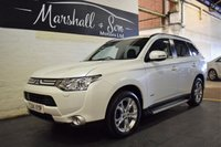 USED 2014 14 MITSUBISHI OUTLANDER 2.3 DI-D GX 4 5d 147 BHP STUNNING CAR - ONE OWNER - 7 SEATS