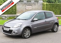 USED 2011 61 RENAULT CLIO 1.6 GT LINE TOMTOM VVT 3d AUTO 111 BHP Finance from only £26 p/w!