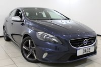 USED 2014 14 VOLVO V40 1.6 D2 R-DESIGN LUX 5DR 113 BHP Full Service History  FULL SERVICE HISTORY + LEATHER SEATS + BLUETOOTH + CRUISE CONTROL + MULTI FUNCTION WHEEL + CLIMATE CONTROL + DAB RADIO + 17 INCH ALLOY WHEELS
