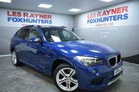 2014 BMW X1 2.0 SDRIVE18D M SPORT 5d AUTO 141 BHP £14999.00