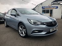 USED 2016 16 VAUXHALL ASTRA 1.4 SRI 5d 148 BHP Low Miles, Parking Sensors, Touch Screen, Bluetooth!