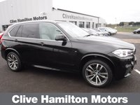 USED 2017 17 BMW X5 3.0 XDRIVE30D M SPORT ELECTRIC TOWBAR AUTO 255 BHP