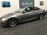 USED 2013 13 BMW 3 SERIES 2.0 318I M SPORT 2d 141 BHP FBMWSH! ONE OWNER! M-SPORT COUPE!