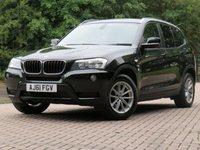 2011 BMW X3 2.0 XDRIVE20D SE 5d 181 BHP £11444.00
