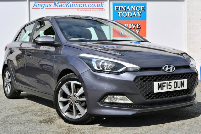 2015 15 HYUNDAI I20 1.2 GDI Petrol SE 5d Family Hatchback with Low Road Tax and High 55mpg