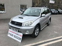 USED 2004 04 TOYOTA RAV4 2.0 XT3 D-4D 5d 114 BHP 1 LADY OWNER FROM NEW ** FULL SERVICE HISTORY **