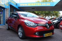2014 RENAULT CLIO 0.9 DYNAMIQUE MEDIANAV ENERGY TCE S/S 5dr 90 BHP £6995.00