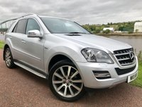 USED 2011 11 MERCEDES-BENZ M CLASS 3.0 ML350 CDI BLUEEFFICIENCY GRAND EDITION 5d 231 BHP **TOP OF THE RANGE**