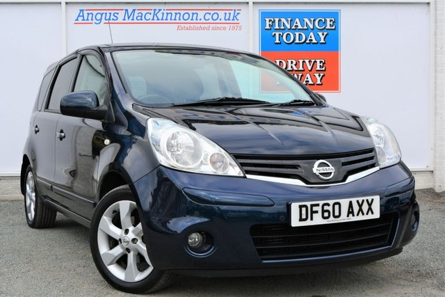 2011 60 NISSAN NOTE 1.5 TEKNA DCI 5d Family MPV with Low Road Tax and High 62mpg