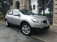 USED 2013 13 NISSAN QASHQAI 1.5 ACENTA DCI 5d 110 BHP *** FINANCE & PART EXCHANGE WELCOME *** 1 OWNER BLUETOOTH PHONE PARKING SENSORS AIR/CON CRUISE CONTROL