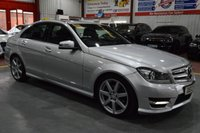 2012 MERCEDES-BENZ C CLASS 1.8 C180 BLUEEFFICIENCY SPORT 4d AUTO 155 BHP £11285.00