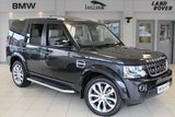USED 2014 64 LAND ROVER DISCOVERY 3.0 SDV6 XXV 5d AUTO 255 BHP FULL WIDSOR LEATHER CREAM SEATS + FULL LAND ROVER SERVICE HISTORY + SATELLITE NAVIGATION + 7 SEAT & CONVENIANCE PACKAGE + SURROUND VIEW REAR CAMERA + 20 INCH POLISHED ALLOYS + T.V RECIEVER + HEATED FRONT/REAR SEATS + XENON HEADLIGHTS + XXV EMBOSSED HEADRESTS + TILT/SLIDE SUNROOF + HEATED STEERING WHEEL + ONLY 1500 MADE FOR WORLD WIDE SALE!