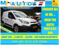 2015 FORD TRANSIT CONNECT 1.6 TDCi 220 5 SEAT Double Cab CREW VAN £10495.00