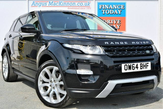 2015 64 LAND ROVER RANGE ROVER EVOQUE 2.2 SD4 DYNAMIC 4x4 Rare Manual 5dr Family SUV in Black