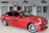 USED 2013 13 BMW 3 SERIES 2.0 318D M SPORT 4d 141 BHP FULL BMW SERVICE HISTORY + FULL BLACK LEATHER SEATS + BLUETOOTH + DAB RADIO + HEATED FRONT SEATS + REAR PARKING SENSORS + CRUISE CONTROL + RAIN SENSORS + AUTOMATIC AIR CONDITIONING