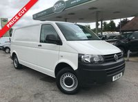 USED 2015 15 VOLKSWAGEN TRANSPORTER 2.0 T30 TDI P/V STARTLINE 1d 102 BHP Long Wheel Base, Only 32,000 Miles, One Owner, Finance In 60 Seconds.