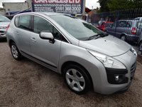 USED 2011 61 PEUGEOT 3008 1.6 SPORT E-HDI FAP 5d AUTO 112 BHP AIR CON, CD PLAYER, GREAT VALUE MPV. LOW ROAD TAX