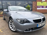USED 2006 56 BMW 6 SERIES 3.0 630I 2d AUTO 255 BHP