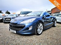 USED 2010 10 PEUGEOT RCZ 1.6 THP SPORT 2d 156 BHP FINANCE AND DELIVERY AVAILABLE