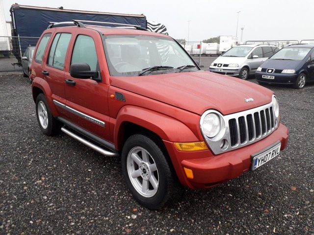 2007 07 JEEP CHEROKEE 2.8 LIMITED CRD 5d AUTO 161 BHP
