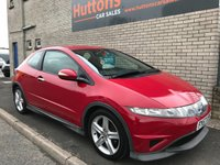 2007 HONDA CIVIC 1.8 I-VTEC TYPE-S 3d 139 BHP £SOLD