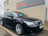 2007 BMW 5 SERIES 2.0 520D M SPORT 4d AUTO 161 BHP £SOLD