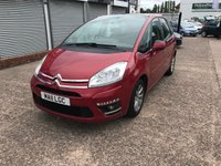 USED 2011 11 CITROEN C4 PICASSO 2.0 VTR PLUS HDI 5d 148 BHP 1 OWNER-FULL SERVICE HISTORY-BLUETOOTH-REAR PARKING SENSORS-CRUISE CONTROL-AIRCON-ALLOYS