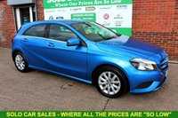 USED 2014 14 MERCEDES-BENZ A CLASS 1.5 A180 CDI BLUEEFFICIENCY SE 5d 109 BHP +AUTOMATIC +Half LEATHER Seats