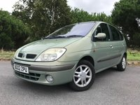 USED 2002 02 RENAULT SCENIC 1.9 DYNAMIQUE DCI 5d 105 BHP PX TO CLEAR READY TO GO, DRIVES WELL!!