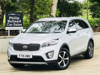 USED 2015 15 KIA SORENTO 2.2 CRDI KX-2 ISG 5d AUTO 197 BHP 4X4 7 SEATS FULL LEATHER, SAT NAV, REVERSE CAMERA