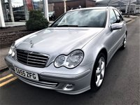 USED 2005 55 MERCEDES-BENZ C CLASS 1.8 C180 KOMPRESSOR AVANTGARDE SE 4d 141 BHP
