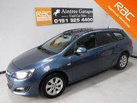 USED 2015 15 VAUXHALL ASTRA 1.6 DESIGN CDTI ECOFLEX S/S 5d 108 BHP SERVICE HISTORY THERE HAS BEEN NO EXPENSE SPARE ON THE UP KEEP OF THIS CAR HAS IMMACULATE BLACK INTERIOR WITH BRUSHED ALLOY INLAYS, ALLOY WHEELS, ELEC MIRRORS, ELEC WINDOWS, CRUSE CONTROL, VOICE COMMAND, RADIO 6 CD CHANGER, REMOTE CENTRAL LOCKING, MULTI FUNCTION LEATHER CLAD STEERING WHEEL, ICE COLD AIR CON BLUETOOTH PHONE PREP Please Call Now on 0151525 4400,  07967141248. Family Run Business