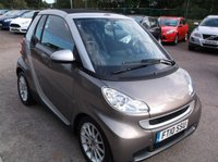 USED 2010 10 SMART FORTWO CABRIO 1.0 PASSION MHD 2d AUTO 71 BHP Economical  and stylish.-  Excellent spec, Great service history, Drives superbly