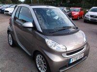 2010 SMART FORTWO CABRIO 1.0 PASSION MHD 2d AUTO 71 BHP £3500.00
